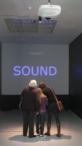 Interactive Music Area 51.211140,4.389929 in M HKA Museum, Antwerp on 7 March 2010
